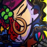"Gypsy At Heart - 2012 - 24 x 30"" - Acrylic on canvas"