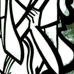 Smeared Barcelona - 2011 - 24″ x 48″ - Mixed Media on Canvas